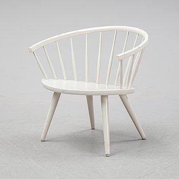 An 'Arka' armchair by Yngve Ekström, designed 1955.