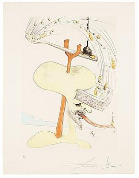 """756. Salvador Dalí, """"Visions de Quevedo""""."""