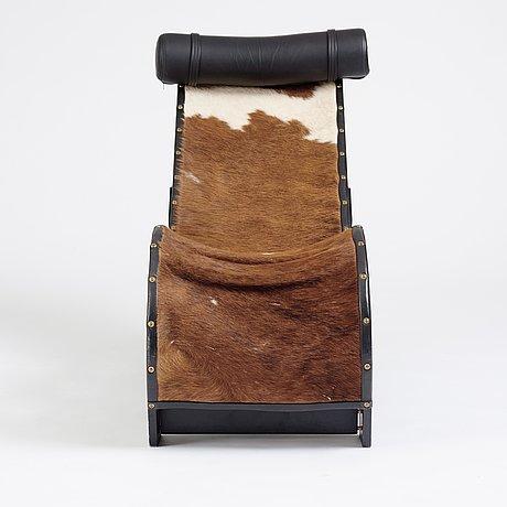 """John kandell, an easy chair, """"vilan"""", källemo, sweden, post 1988."""