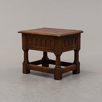 A small Baroque style oak chest, Nordiska Kompaniet, Stockholm, 1936.