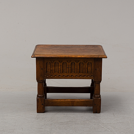 A small baroque style oak chest, nordiska kompaniet, stockholm, 1936.