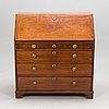 An 18th century late gustavian secretaire chest of drawers.