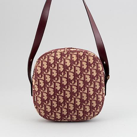 Christian dior, monogram canvas bag.