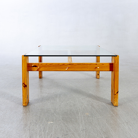 Sven larsson, coffee table, pine, larssons furniture. the second half of the 20th century.