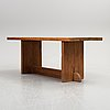 Axel einar hjorth, a 'lovö' pine table, nordiska kompaniet.