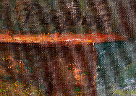 Per-hilding perjons, oil on canvas, signed.