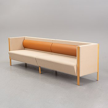 A sofa from around the year 2000.