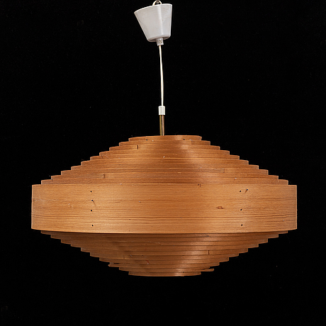 A pine ceiling light, second half of the 20th century.