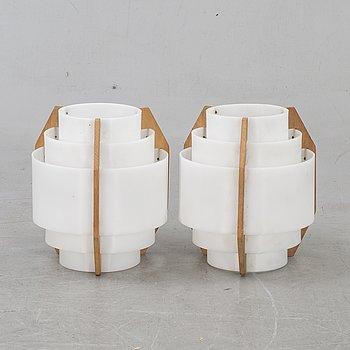 Wall lamps, 2 pcs, 1960s, probably Luxus.