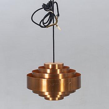 Jo Hammerborg, ceiling lamp, Fog Mörup, Copper.