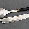 Nanny still 95-piece set of kaleva cutlery for hackman, finland. model designed in 1976.