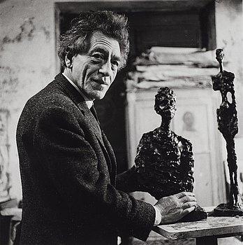 "199. Gisèle Freund, ""Giacometti"", 1964."