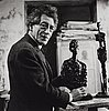 "Gisèle freund, ""giacometti"", 1964."