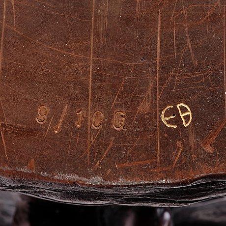 "Ernst billgren, a pair of patinated bronze jardinières, ""i trädkronan"", 2002, ed 9/100 and 10/100."