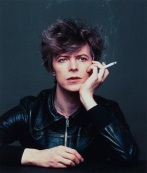 """168. Masayoshi Sukita, """"Bowie V-2 Schneider"""", 1977."""