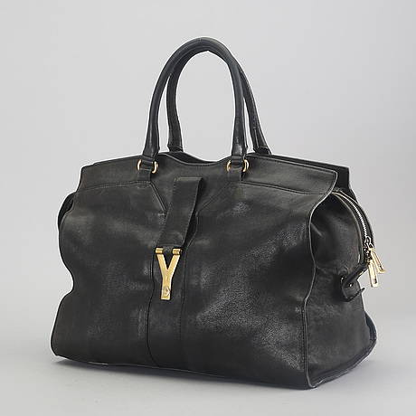 "Yves saint laurent, bag, ""cabas chyc"", large."