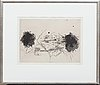 Antoni tàpies, etching signed and numbered 34/75.