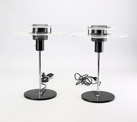 Ikea, ikea, 2 table lamps, 80s.