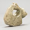 Luckie mupinga, a stone sculpture, signed.