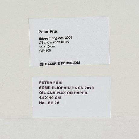 "Peter frie, ""eliopainting #24""."