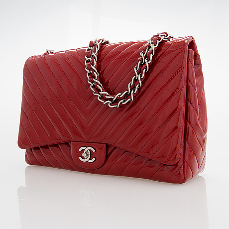 "Chanel,  ""jumbo flap bag"", 2009-2010."