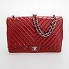 """Chanel,  """"jumbo flap bag"""", 2009-2010."""