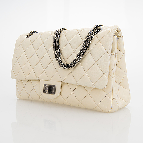"Chanel, ""2.55 reissue jumbo double flap bag"", väska, 2009-2010."