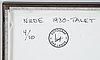 Åke lange, after, c-print, numrerad 4/10.