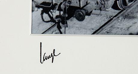 Åke lange, after, c-print, numbuered 1/10.