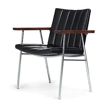 """414. Hans J Wegner, a model """"AP 52"""" chair for AP Stolen, Denmark 1960-70's."""