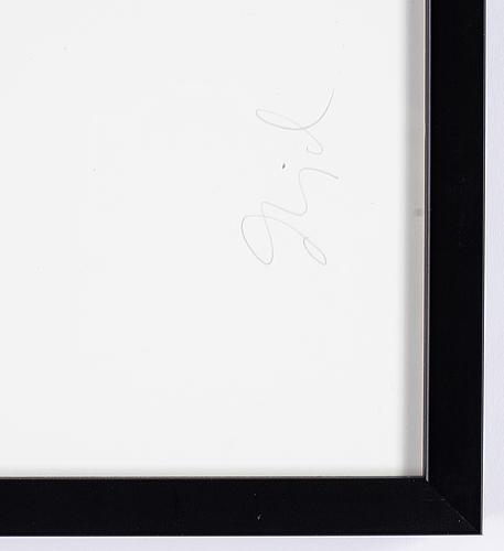 Dawid, pigment print, signed 93/100.