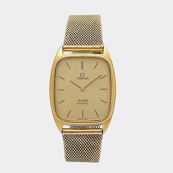 Omega De Ville, armbandsur, 28,5 x 30,5 (37,5) mm.