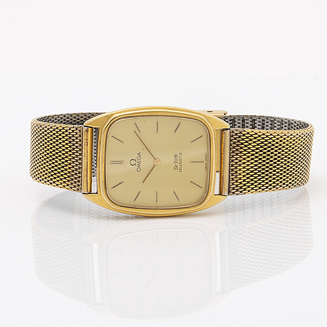 Omega, de ville, wristwatch, 28,5 x 30,5 (37,5) mm.