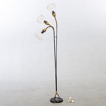 A 1950/60s floor lamp.