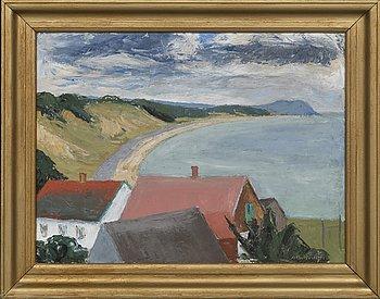 Albert Krüger, oil on canvas signed.