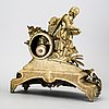 A neo -rococo table clock later part of the 19th century.