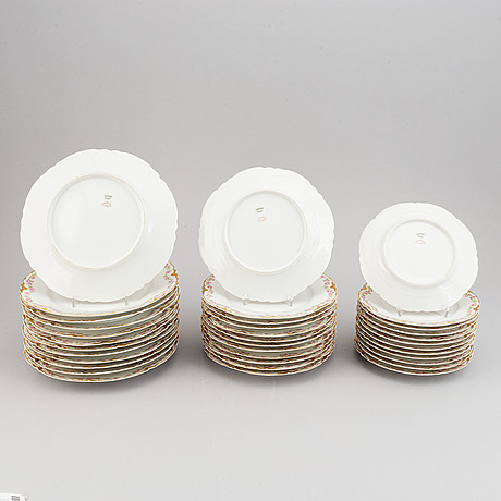 A havliand, limoges dinner service, 20th century. (56 pieces).