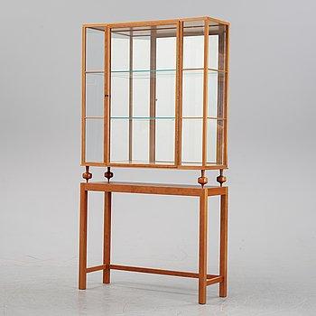 Josef Frank, a model 2077 cherry wood display cabinet, Svenskt Tenn.