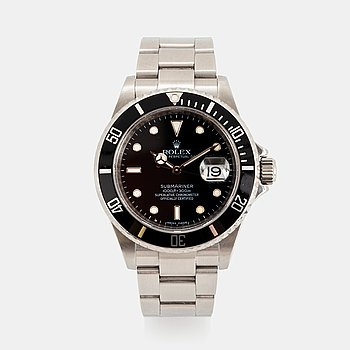 "3. Rolex, Submariner, ""Engraved Rehaut""."