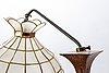 A copper 1930/40s floor lamp.