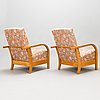 A 1930's 'mainio' armchairs for asko finland.