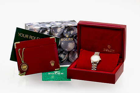 Rolex oyster perpetual, wristwatch 25 mm.