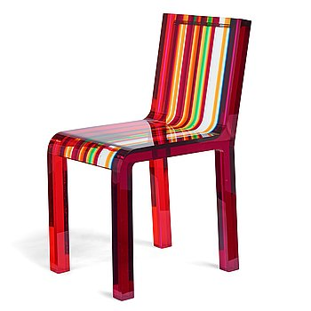 """105. Patrick Norguet, a """"Rainbow Chair"""" for Cappellini, post 2000."""
