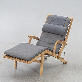 Kenneth Bergenblad, a teak deck chair 2010s.