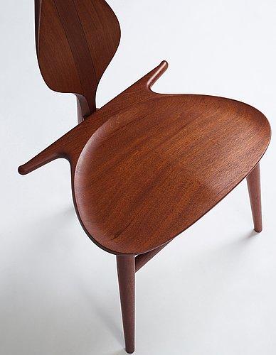 """Hans j wegner, """"the valet chair"""", model pp-250, for pp møbler, denmark 2007."""