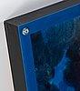 Risto vilhunen, akryl och plexiglas, signerad och daterad 2004.