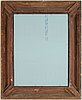 Spegel i tavelram, 1900-tal.