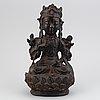 Guanyin, brons. mingdynastin (1368-1644).