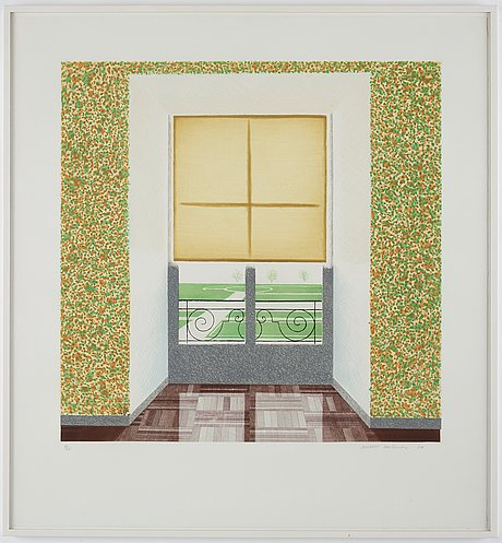 """David hockney, """"contrejour in the french style""""."""