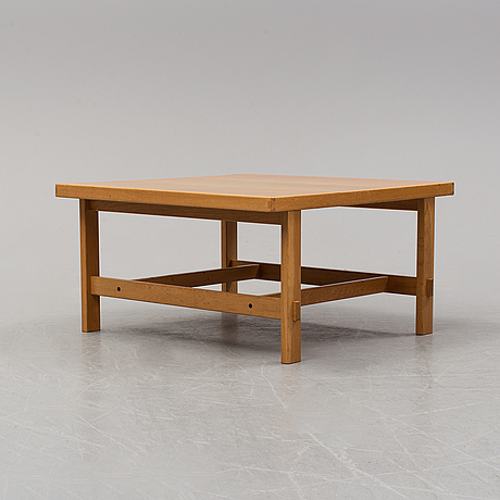 An hmb möbler coffee table , rörvik, second half of the 20th century.